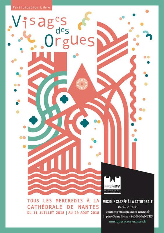 Juillet-aout 2018: «Visages des orgues» à la Cathédrale de Nantes (44)