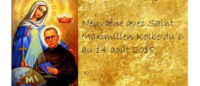 Neuvaine à Saint Maximilien Kolbe du 6 au 14 Août 2018 avec Hozana.org