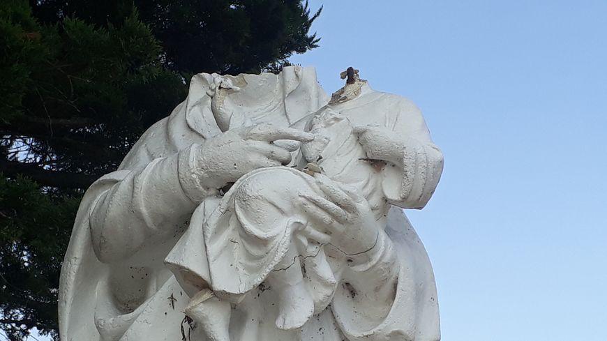 Noirmoutier: une statue de la Vierge décapitée
