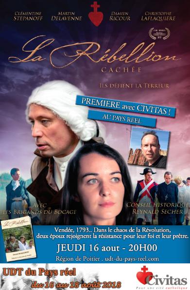Projection du film La rébellion cachée en présence du réalisateur à l'UDT du Pays Réel près de Poitiers (86)