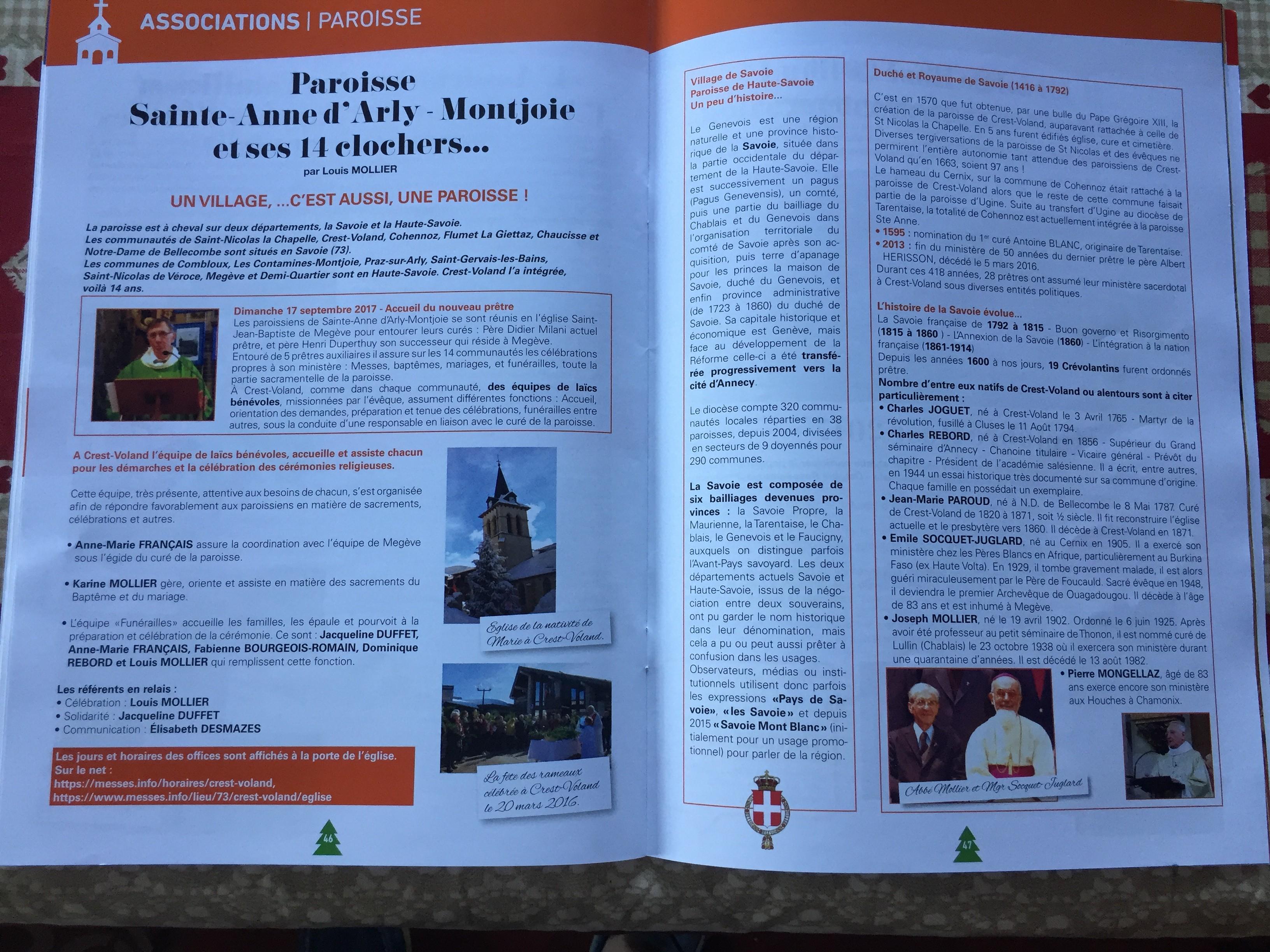 France: Un village de 300 âmes compte un martyr de la révolution, un évêque missionnaire, un miraculé de Charles de Foucauld…