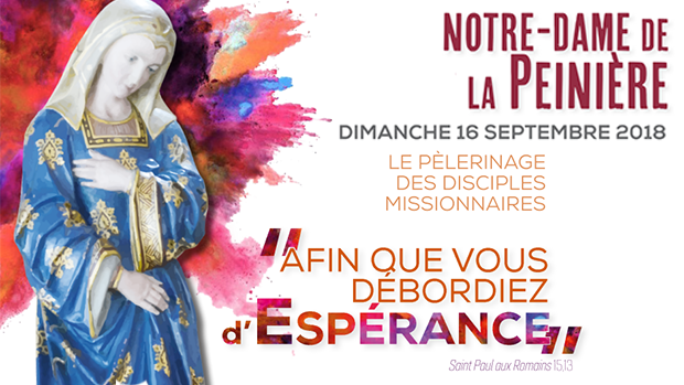 Pèlerinage de rentrée du diocèse de Rennes à Saint-Didier (35) le 16 septembre 2018