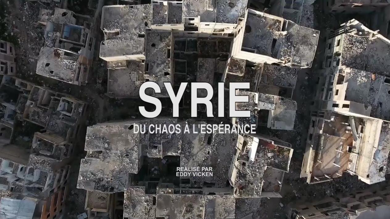 Avant première du film «Syrie, du chaos à l'espérance» le 27 septembre 2018 à Paris