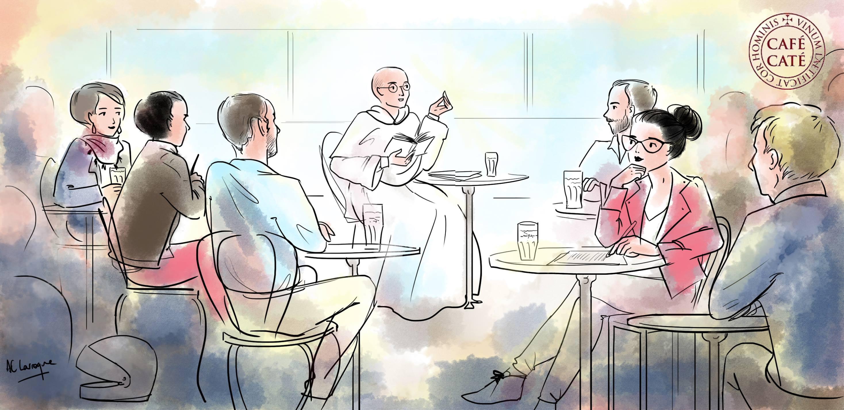 Rentrée du Café Caté à Paris le 2 octobre 2018 et rdv chaque 1er mardi du mois