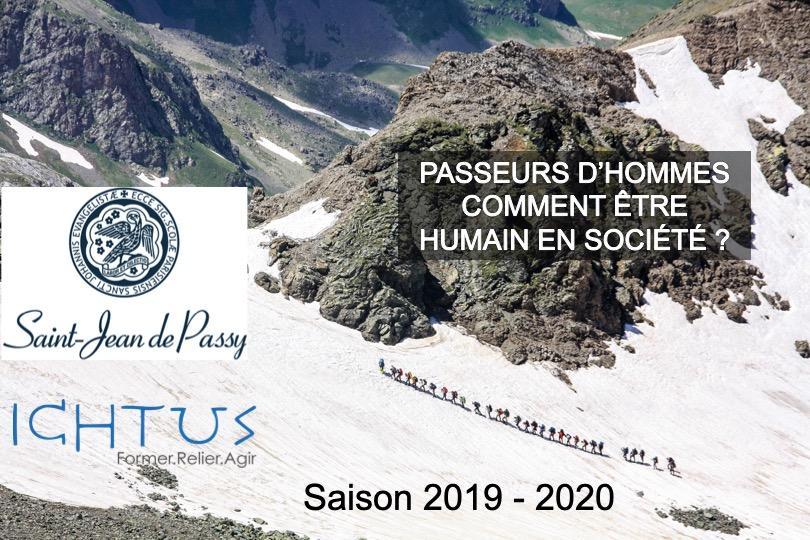 """Parcours """"Passeurs d'hommes"""" par Ichtus du 14 octobre 2019 au 24 mars 2019 à Paris"""