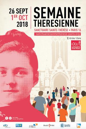 Une semaine consacrée à sainte Thérèse du 26 septembre au 1er octobre 2018 à Paris