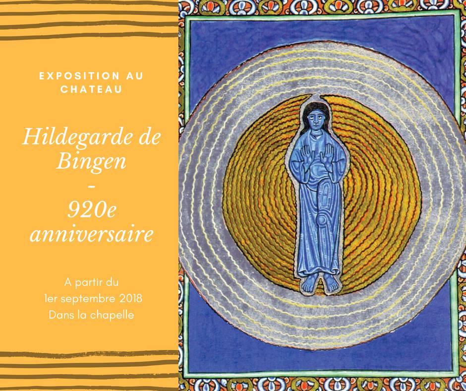 Exposition sur Sainte Hildegarde de Bingen jusqu'au 30 septembre 2018 au Château de Fontaine-Henry (14) – Inauguration le 10 septembre