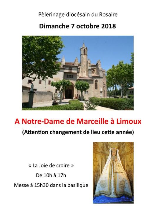 Pèlerinage diocésain (Carcassonne & Narbonne) du Rosaire le 7 octobre 2018 à Limoux (11)
