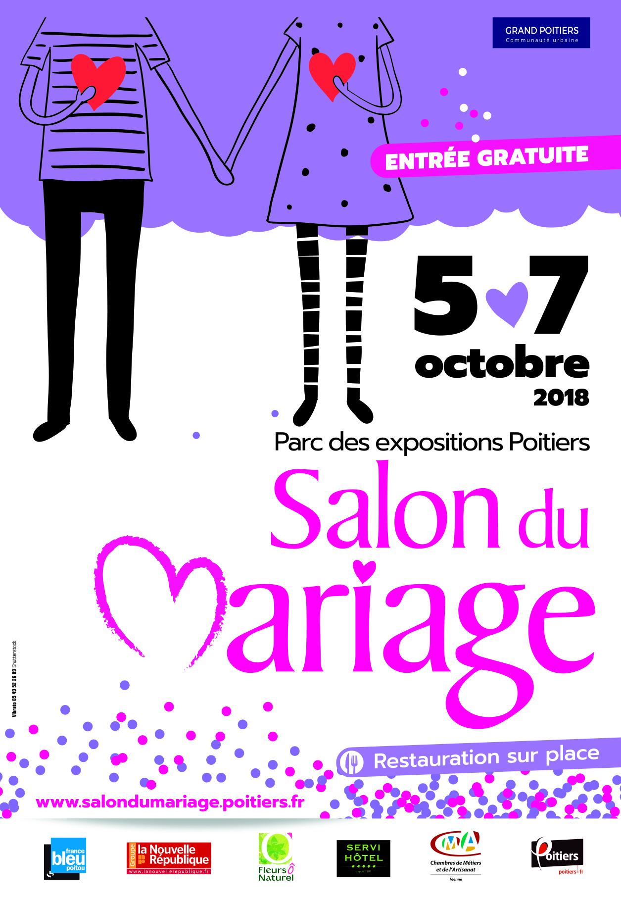 Présence de la Pastorale des familles au salon du mariage de Poitiers (86) du 5 au 7 octobre 2018