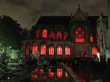 A L'église Saint Merri de Paris, le blasphème et la profanation sont monnaie courante