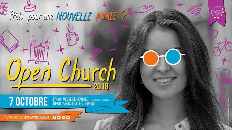 Festival Open Church 2018 à Lyon (69) le 7 octobre