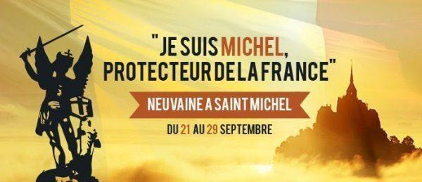 """du 21 au 29 septembre prochain : Neuvaine à Saint Michel """"protecteur de la France"""""""