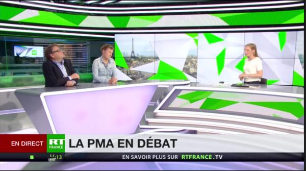 Débat sur la PMA en France : G. Bernard avance des arguments face à A. Coffin