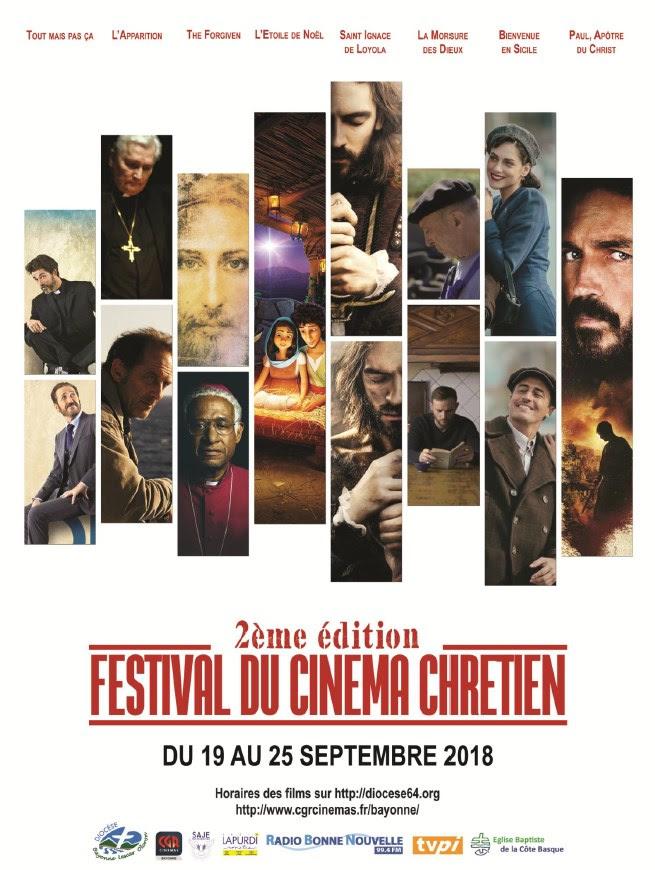Festival du Cinéma Chrétien du 19 au 25 septembre 2018 au CGR de Bayonne (64)