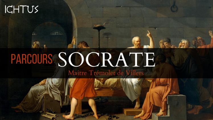 Parcours Socrate: venez rencontrez les grandes figures de la civilisation européenne avec Jacques Trémolet de Villers – Paris, du 8 novembre 2018 au 28 mars 2019