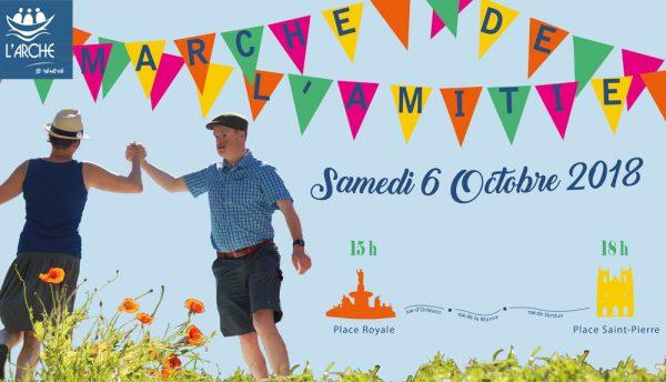 6 octobre 2018: Marche de l'amitié – le Sénevé investit les rues de Nantes (44)
