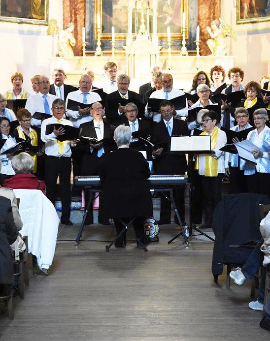 Concert caritatif du Choeur Amédée le 27 octobre 2018 à Anthy-sur-Léman (74)
