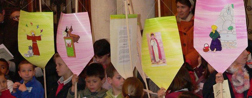 Toussaint des enfants le 20 octobre 2018 au sanctuaire Notre-Dame de Montligeon (61)