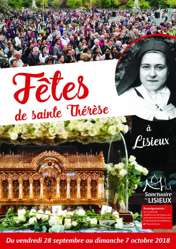 Fêtes thérésiennes 2018 – jusqu'au 7 octobre 2018 à Lisieux (14)