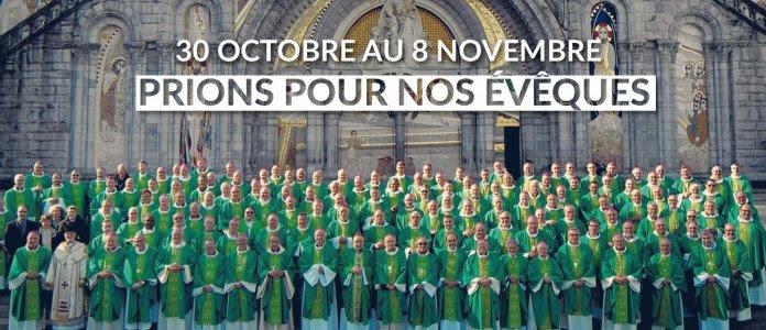 Pour l'assemblée des évêques de France, prions pour nos pasteurs!
