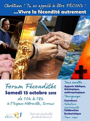 Rencontre autour des diverses formes de fécondité que prend notre vie baptismale le 13 octobre 2018 à Évreux (27)