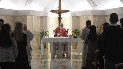 """Pape François: """"les persécutions font partie de la vie du disciple"""""""