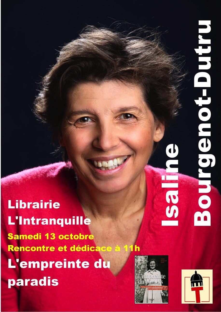 Chiara et ses Focolari à travers un livre – rencontre dédicace de l'auteur le 13 octobre 2018 à Besançon (25)