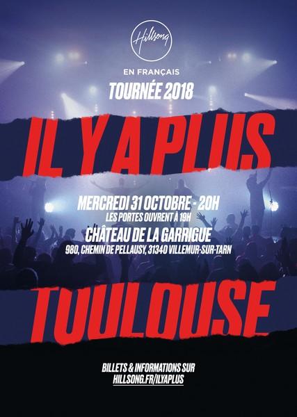 Concert de Hillsong le 31 octobre 2018 à Villemur-sur-Tarn (31)