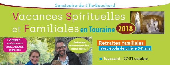 Session familiale de la Toussaint du 27 au 31 octobre 2018 à la maison de Chézelles (37)