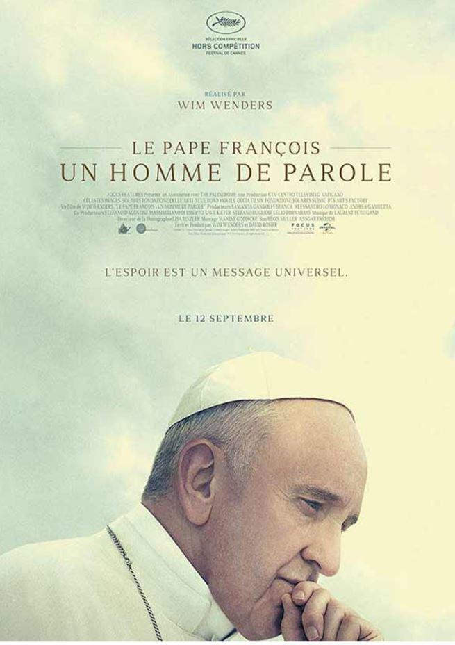 """Ciné-débat: """"Le pape François – Un homme de Parole"""" le 14 mars 2019 à Barbezieux (16)"""