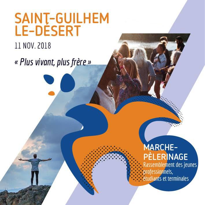 Rassemblement du 11 novembre 2018 à Saint-Guilhem-le-Désert (34)