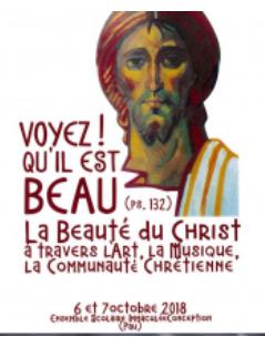 """Journées """"la Beauté du Christ"""" les 6 & 7 octobre à Pau (64)"""