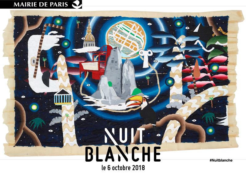 Nuit Blanche 2018 dans les églises de Paris du 6 au 7 octobre
