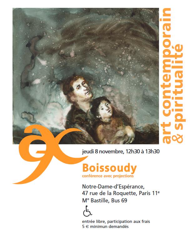 Boissoudy par lui-même, conférence avec projections – le 8 novembre 2018 à Paris