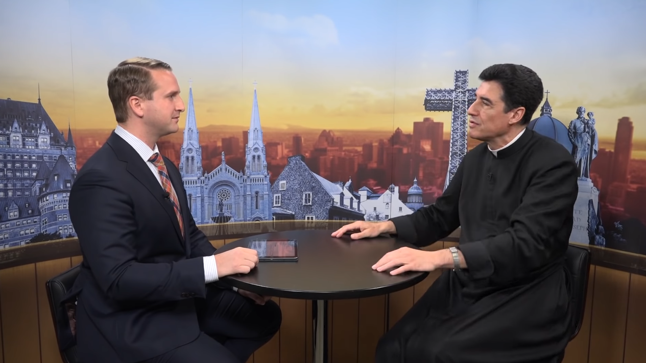 La nouvelle évangélisation – Interview télévisée du Père Michel-Marie Zanotti-Sorkine