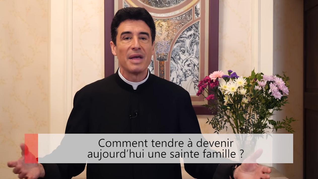 """Deux minutes pour vous #31 – Père Michel-Marie Zanotti-Sorkine – """"Comment tendre à devenir aujourd'hui une sainte famille?"""""""