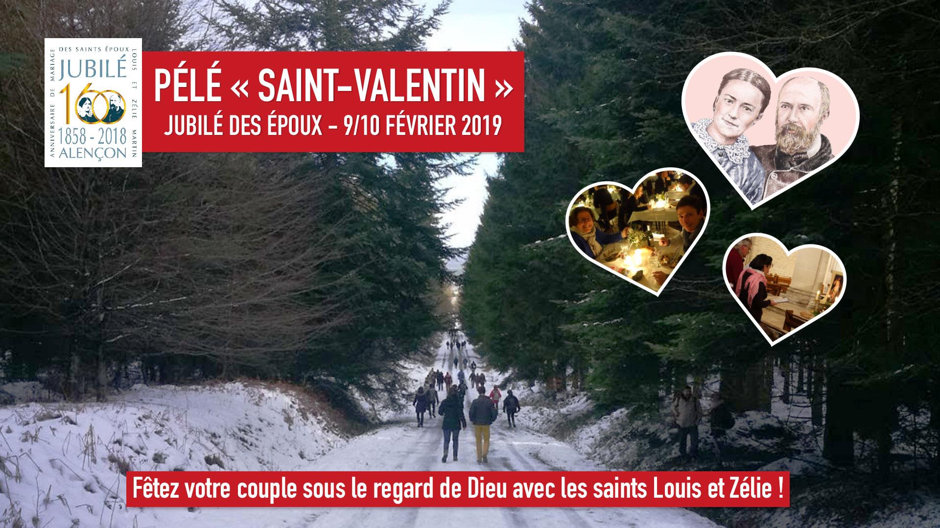 """Pélé """"Saint-Valentin"""" les 9 & 10 février 2019 au Sanctuaire d'Alençon (61)"""