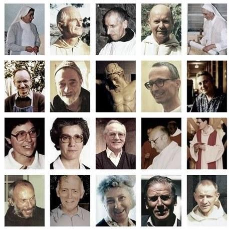 Veillée de prière avec les 7 moines de Thibirine et les 12 autres martyrs d'Algérie à l'occasion de leur béatification – le 4 décembre 2018 à Arras (62)