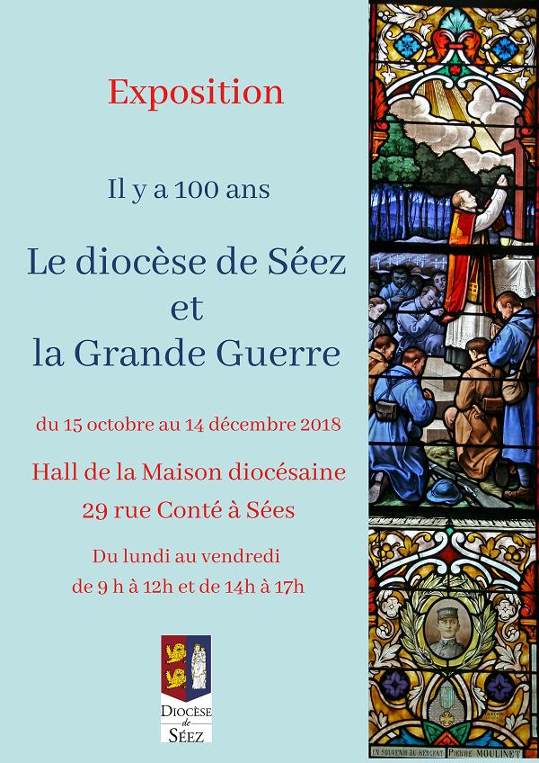 Exposition: le diocèse de Séez et la Grande Guerre – jusqu'au 14 décembre 2018 à Sées (61)