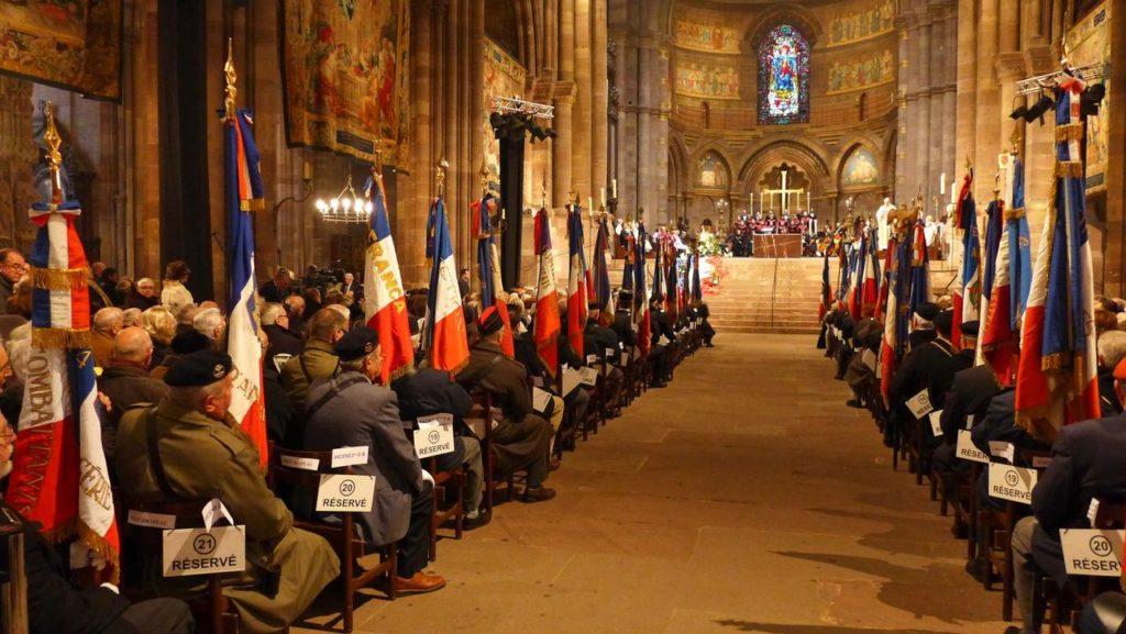 Messe pour la Paix le 18 novembre 2018 à Strasbourg (67)