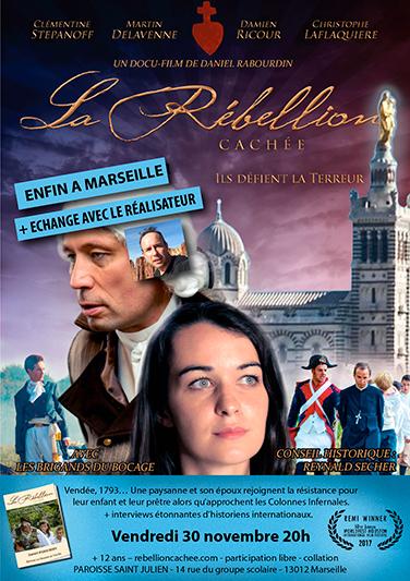 Projection du film La rébellion cachée en présence du réalisateur le 30 novembre 2018 à Marseille (13)