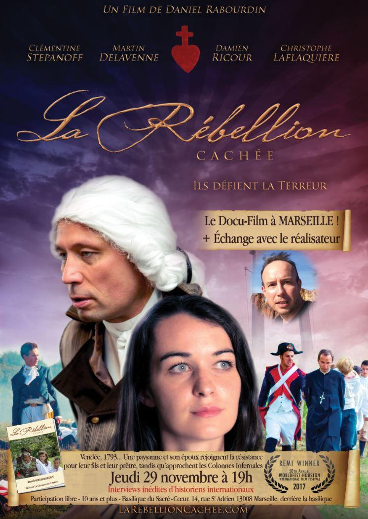 Projection du film La rébellion cachée en présence du réalisateur le 29 novembre 2018 à Marseille (13)