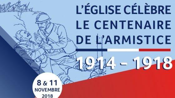 Messes pour le centenaire de la fin de la Première Guerre mondiale les 8 et 11 novembre 2018 à Paris