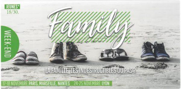 17 & 18 novembre 2018: Week-end Family pour les jeunes de 18-30 ans à l'Abbaye de Melleray (44)
