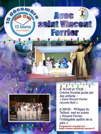 12 heures avec le Seigneur le 15 décembre 2018 à Vannes (56)