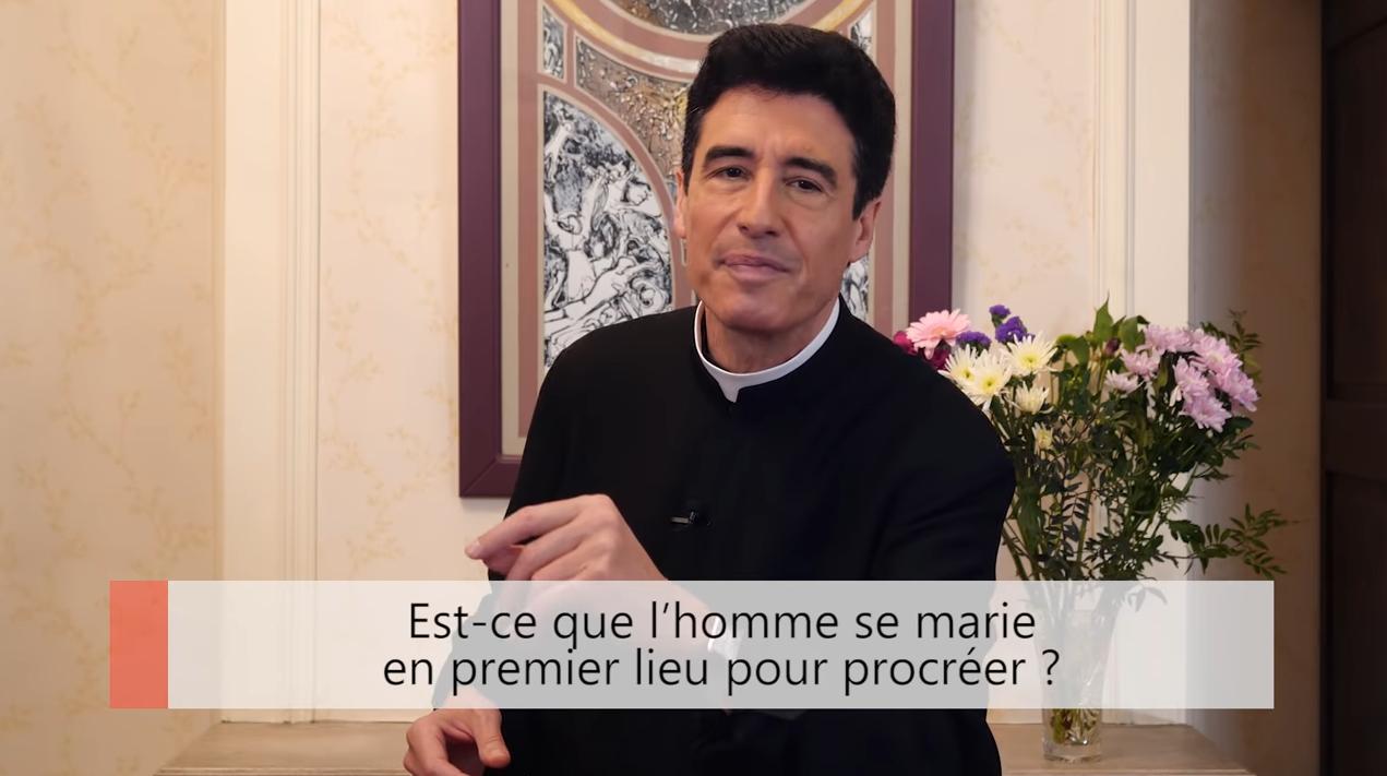 """Deux minutes pour vous #33 – Père Michel-Marie Zanotti-Sorkine – """"Est-ce que l'homme se marie en premier lieu pour procréer?"""""""