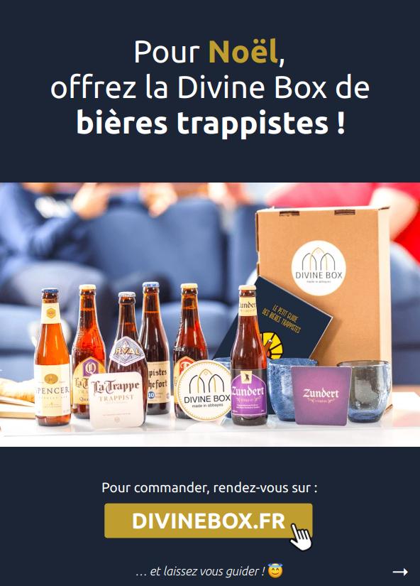 [Idée cadeau] Les 10 bonnes raisons d'offrir la Divine Box de bières trappistes