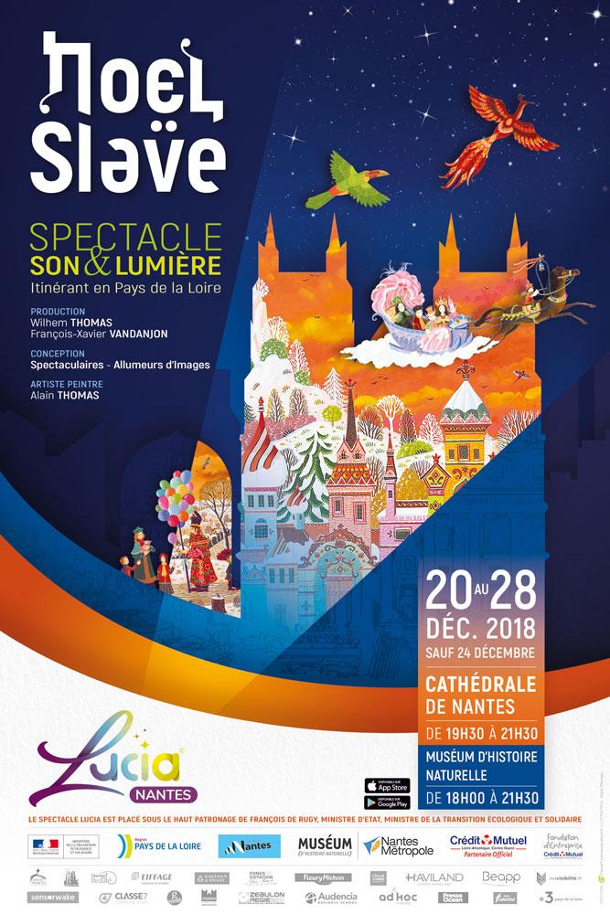 Du 20 au 28 décembre 2018 – Lucia: Noël slave à Nantes (44)