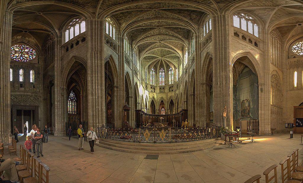 Nouvel An: Une prière pour la paix et temps fraternel à la cathédrale de Bordeaux (33)