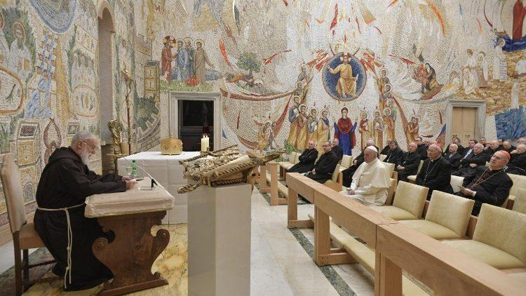 Vatican: Deuxième méditation de l'Avent par le prédicateur de la Maison pontificale